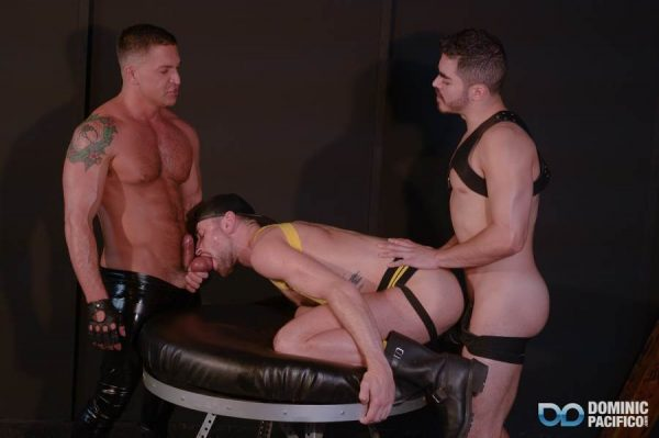 Dominic Pacifico, Drew Dixon and Cazden Hunter 5
