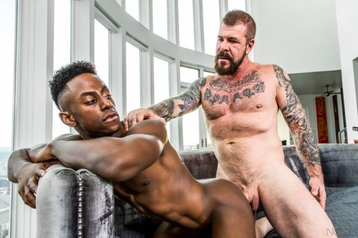 Liam Cyber and Rocco Steele for Noir Male 7