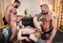 Ricky Larkin, Kurtis Wolfe and Jaxx Thanatos for Raging Stallion 3