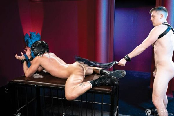 Tyler Rush and Silver Steele for Fisting Central 8