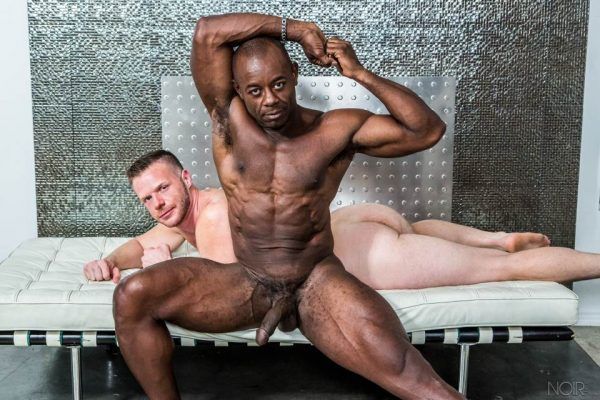 Brian Bonds and Aaron Trainer for Noir Male 1