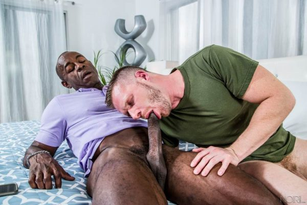 Brian Bonds and Aaron Trainer for Noir Male 2