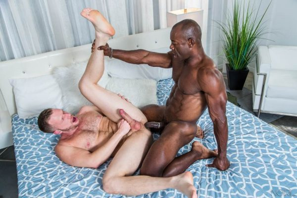 Brian Bonds and Aaron Trainer for Noir Male 4