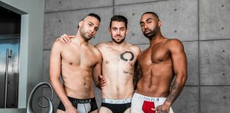 Dante Colle, Remy Cruze and Tyson Rush - Noir Male Threesome