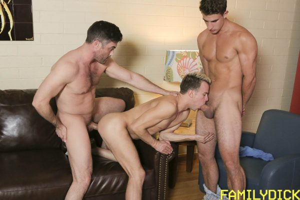 Logan Cross, Lance Hart and Zane for Family Dick 4