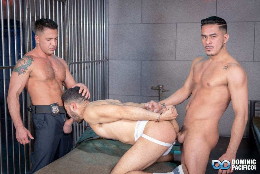 Cesar Xes, Angel Duran and Dominic Pacifico