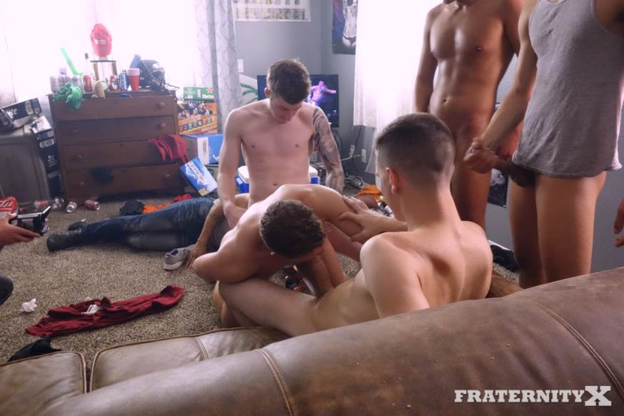 Fraternity X: Five cocks in one hole 2