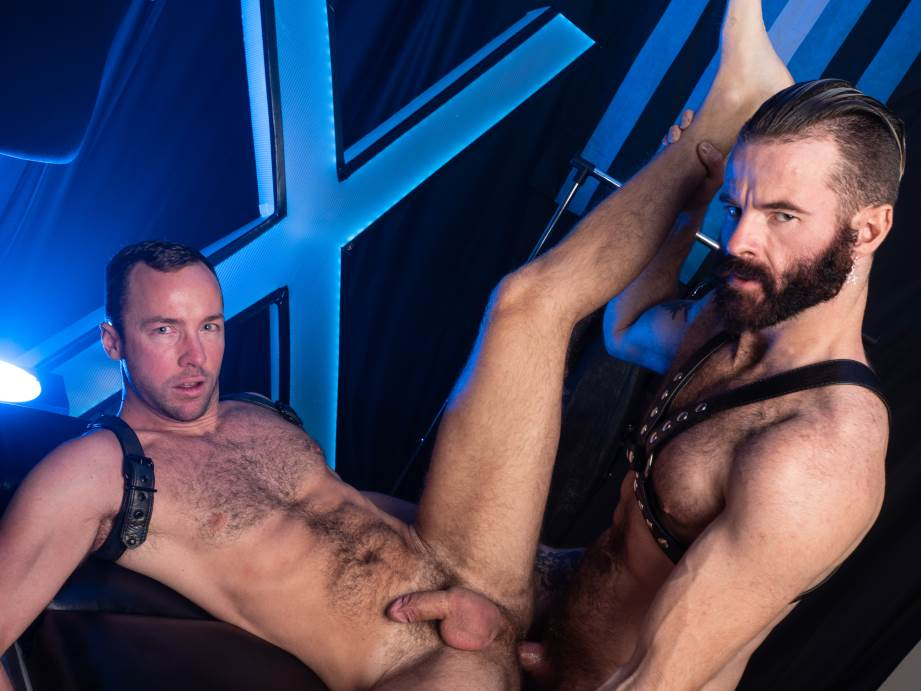 Leather and Cock - A Compilation By Hairy And Raw 1