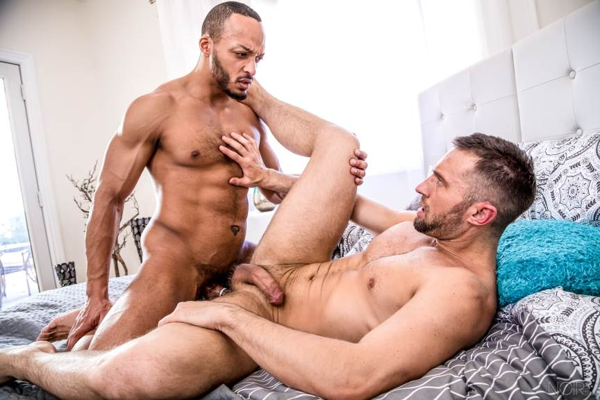 Colby Tucker and Dillon Diaz for Noir Male 4