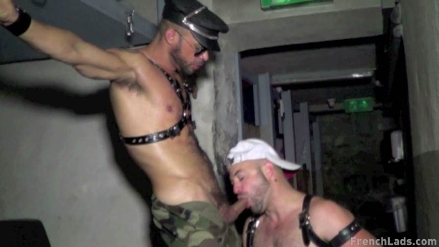 French Lads: Leather Sex