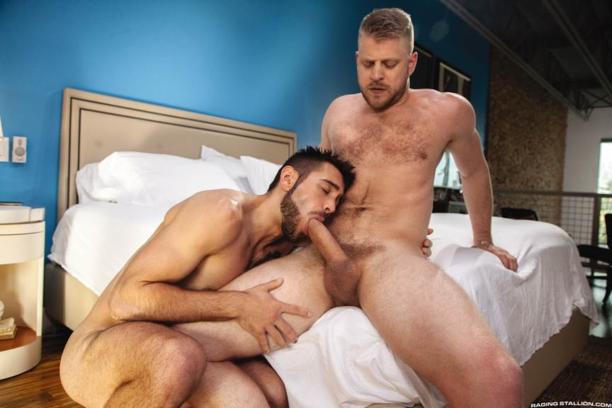 Logan Stevens and Dante Colle for Raging Stallion 1