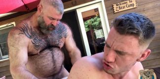 Muscle Bear Porn: Bear Bait with Mac Savage 2