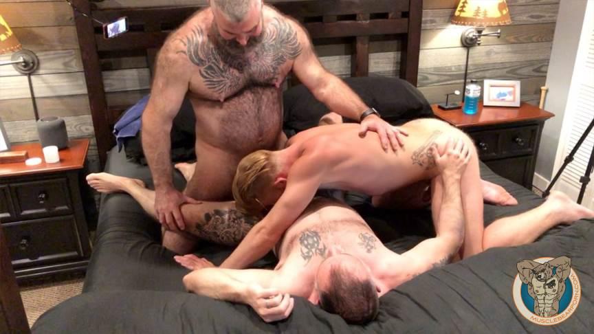 Muscle Bears Porn: Bennett Anthony 3