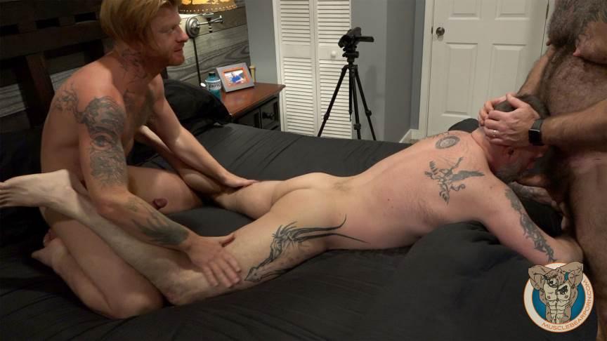 Muscle Bears Porn: Bennett Anthony 5
