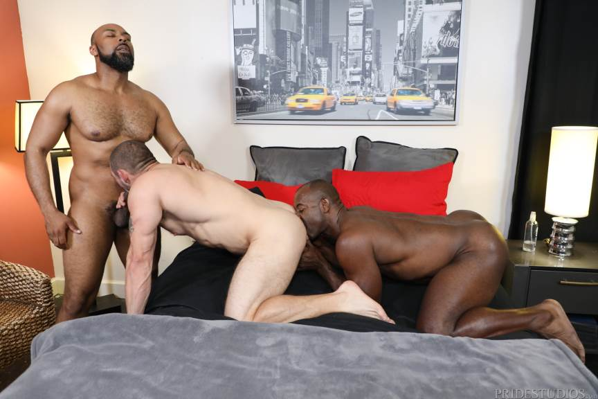 Ray Diesel, Ceasar Ventura and Aaron Trainer for Pride Studios 1