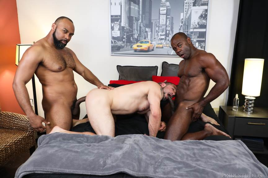 Ray Diesel, Ceasar Ventura and Aaron Trainer for Pride Studios 2