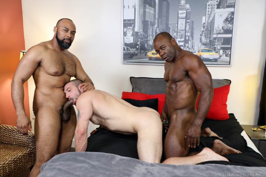 Ray Diesel, Ceasar Ventura and Aaron Trainer for Pride Studios 4