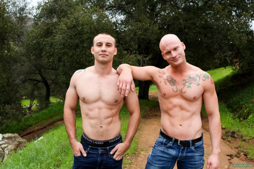 Roman Eros and Marc Montana for Active Duty