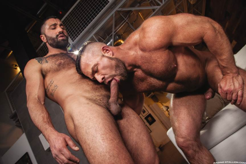 Sharok and Liam Knox for Raging Stallion 1