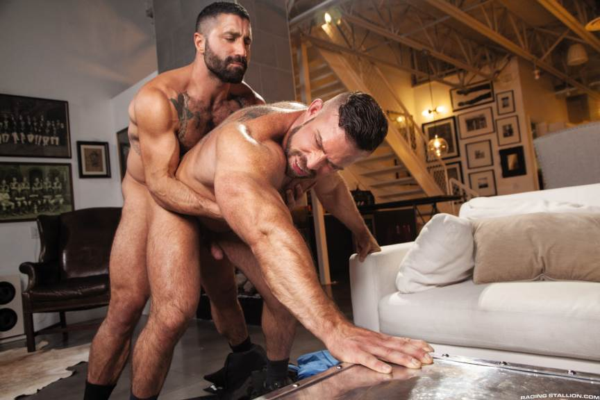 Sharok and Liam Knox for Raging Stallion 4