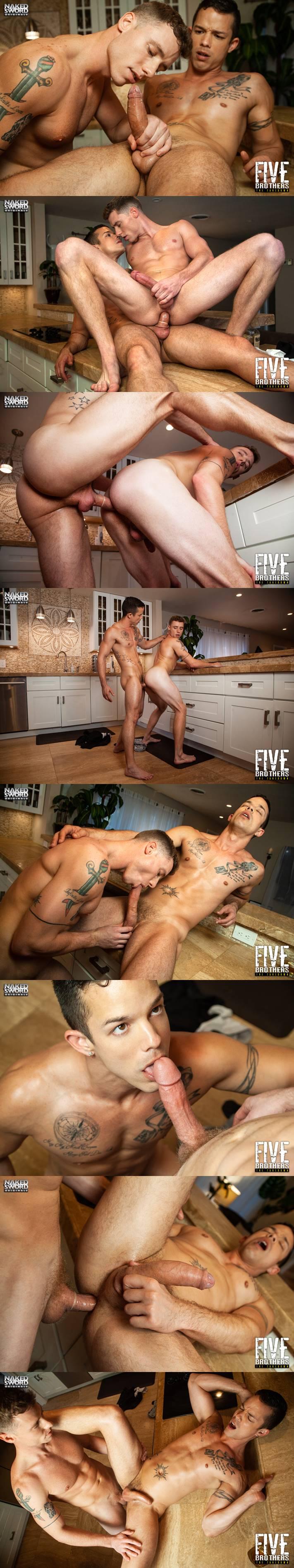 Five Brothers: The Takedown - Nic Sahara & Justin Matthews