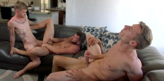 Orgy with Johnny Hill, Ryan Jordan, Justin Matthews & Brian Adams