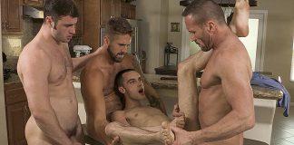 Family Dick: Myles Landon, Joe Ex, Wesley Woods & Michael Boston 2