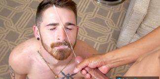 Gay Room: Chase Vallon Plows Nick Milani 1
