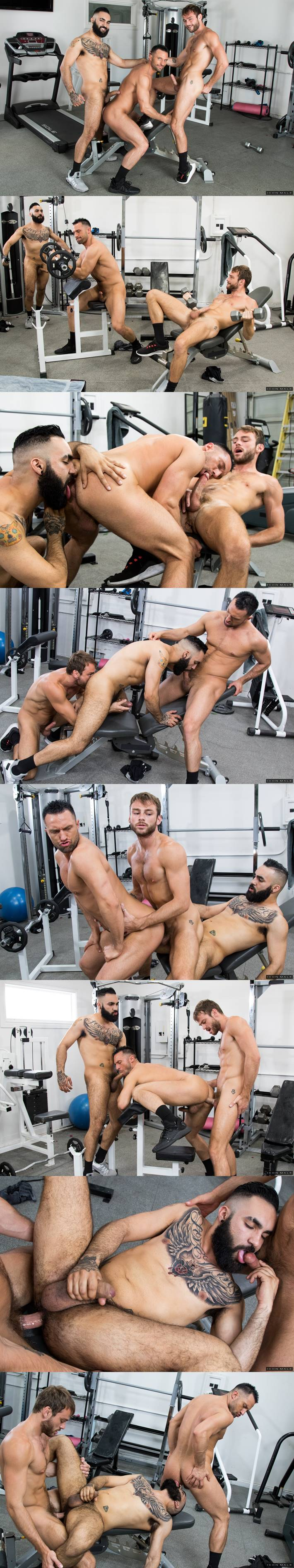 Max Adonis, Colby Tucker and Zaddy for Icon Male
