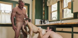 Family Dick: Dale Savage, Greg McKeon, and Marcus Rivers 2