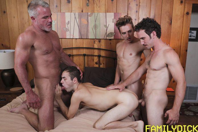 Family Dick: Dale Savage, Greg McKeon, Bar Addison & Marcus Rivers 1