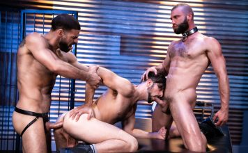 Ricky Larkin, Mason Lear & Donnie Argento - Manscent - Raging Stallion 1