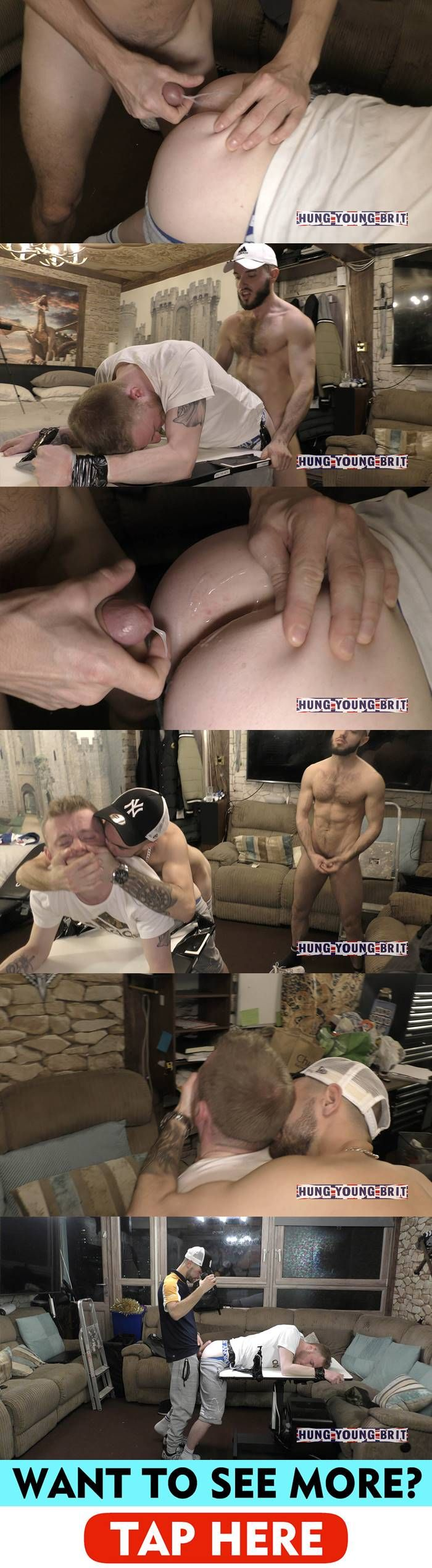 Hung Young Brit: Fucking A Military Stud