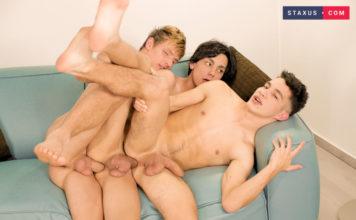 Staxus: Adam Veller, David Holister & Casper Randall 1