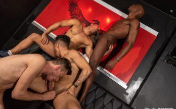 Dominic Pacifico: Bareback Orgy 1