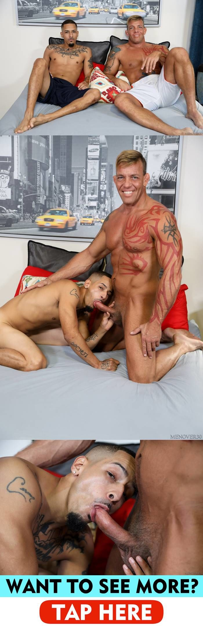 Men Over 30: Juan Carlos & Tristan Brazer