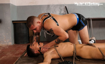 My Dirtiest Fantasy: Master Aaron & Pierre Rubberax - Scene 2 1