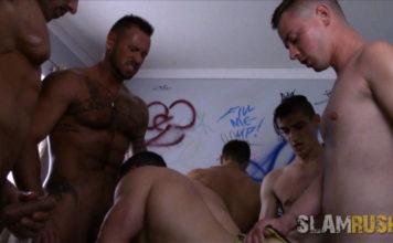 Slamrush: Orgy With Michael Roman 1