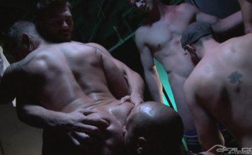 Falcon Studios - Muscle Men Orgy 1