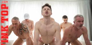 TwinkTop: 6 Men Orgy 1