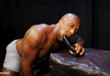 Micah Martinez: Dildo Solo For KinkMen 1