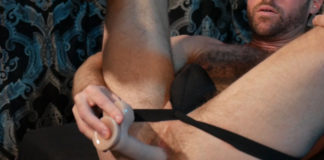 Alex Hawk - Dildo Solo for KinkMen 1