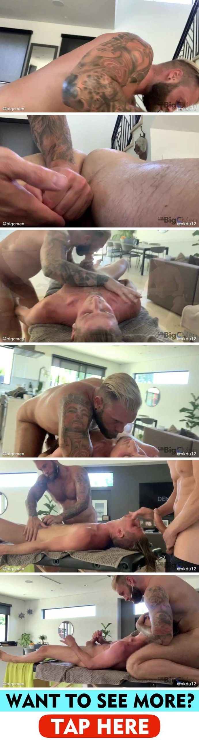 The Big C Men: Tantric sex with Cory & Jared - Part 1