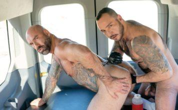 Drew Sebastian Fist Fucked By Julian Torres - Fist Bus 2 1