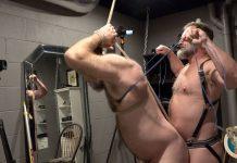 Muscle Bear Porn: Kristofer Weston Dominates & Fucks Will Angell 1