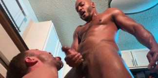 Kinkmen: Dillon Diaz Spanks & Barebacks Alex Hawk 1