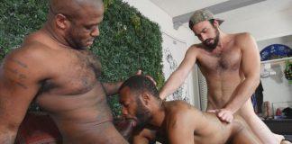 Real Men Fuck: Micah Martinez, August Alexander & Mason Lear 1