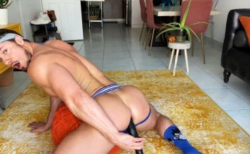 Skyy Knox - Dildo Solo for Falcon Studios 1
