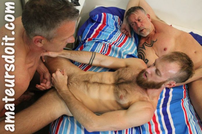 AmateursDoIt: Tyla, Max & Don - Bareback Threesome 2