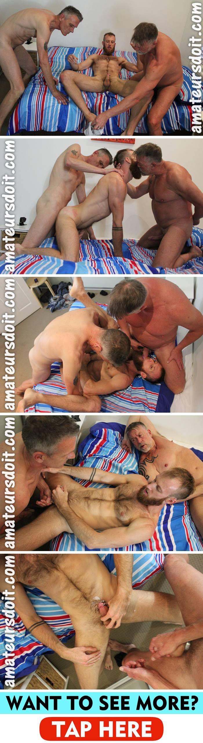 AmateursDoIt: Tyla, Max & Don - Bareback Threesome
